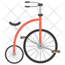 Penny Farthing Ancient Cycle Retro Bike Icon