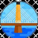 Penobscot Narrows Bridge Cable Stayed Bridge Footbridge Icon