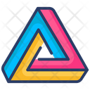 Penrose Triangle Icon