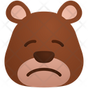 Pensive Emoji Sticker Icon