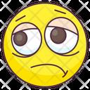 Pensive Emoji Icon