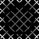Pentagon Geometry Math Icon