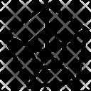 Pentagon Shape Design Icon