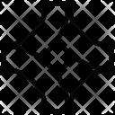 Pentagonal chart Icon