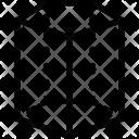Pentagonal cylinder Icon