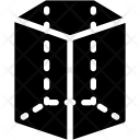Pentagonal cyliner Icon