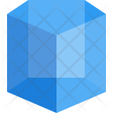 Pentagonal Prism Shapes Icon