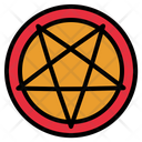 Pentagram Satan Star Icon