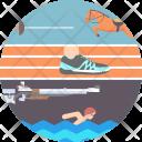 Pentathlon Olympics Sports Icon