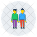 Partner Friends Buddies Icon