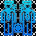 People Virus Spreading Icon