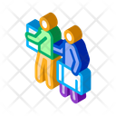 People Luggage Immigration Icon