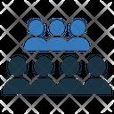 People Row Meeting Icon