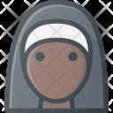 People Avatar Nun Icon