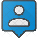People User Location Icon