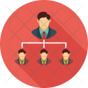 People Business Networking Icon