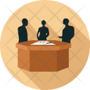 People Business Meeting Icon