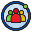 People Group Businessman Icon