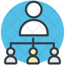 People Hierarchy Business Icon