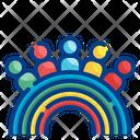 People Diversity Pride Icon