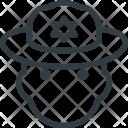 People Avatar Head Icon