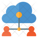 People Connect Cloud Connection Cloud User Icon