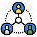 People Connection People Network Connection Icon