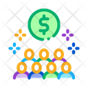 People Desire Money Icon
