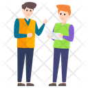 People Discussion Communication Conversation Icon