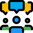People Discussion Icon