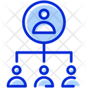 Hierarchy Lead Manager Icon