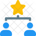 People Hierarchy Connection People Network Icon