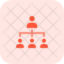 People Hierarchy People Network Network Icon