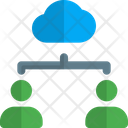 People Hierarchy People Network Connection Icon