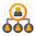 People Hierarchy Team Organization People Network Icon
