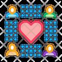 Neuromarketing People Love Icon
