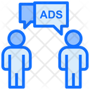 People Marketing People Ads Icon