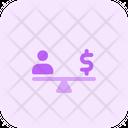 People Money Balance Icon