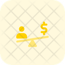 People Money Balance Three Icon