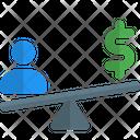 People Money Balance Three User Balance Finance Icon