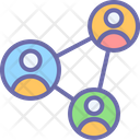 Network Person Business Icon