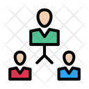Group Team Connection Icon