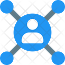 People Network People Hierarchy Network Icon