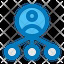 Referral Marketing Distribution Icon