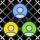 People Network Teamwork Team Icon