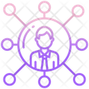 People Network Connection People Hierarchy Icon