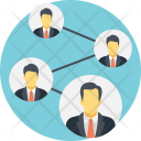 People Network Social Icon