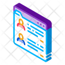 People Personal Files Icon