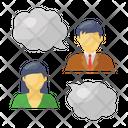 Users Thinking People Thinking Team Thinking Icon