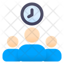 People Time Management Delay Icon